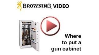 Where To Put A Gun Cabinet