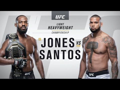 UFC 239: Джон Джонс vs. Тиагу Сантос - highlights