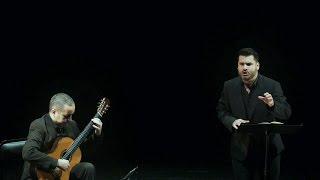 Die schöne Müllerin, Schubert - Sub: EN DE ES - Juan Antonio Sanabria, tenor & JM Dapena, guitar