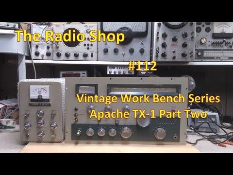 #112 Vintage Work Bench Series Apache TX 1 Part Two