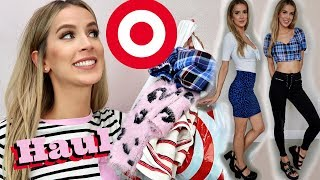 HUGE TARGET TRY ON HAUL FALL | 90s MEAN GIRL HEAVEN