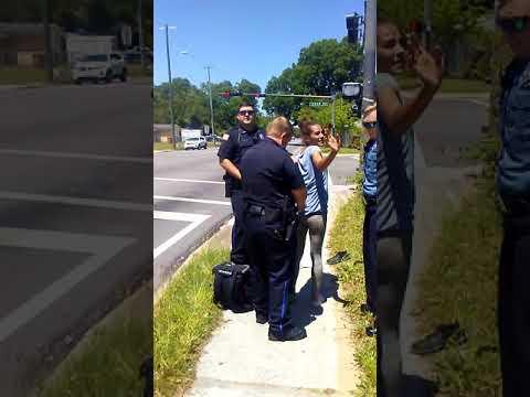Pensacola city police harassment