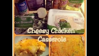How To: Cheesy Chicken Broccoli & Rice Casserole