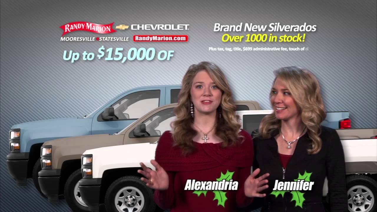 Randy Marion Chevrolet Silverado December 2014 - YouTube