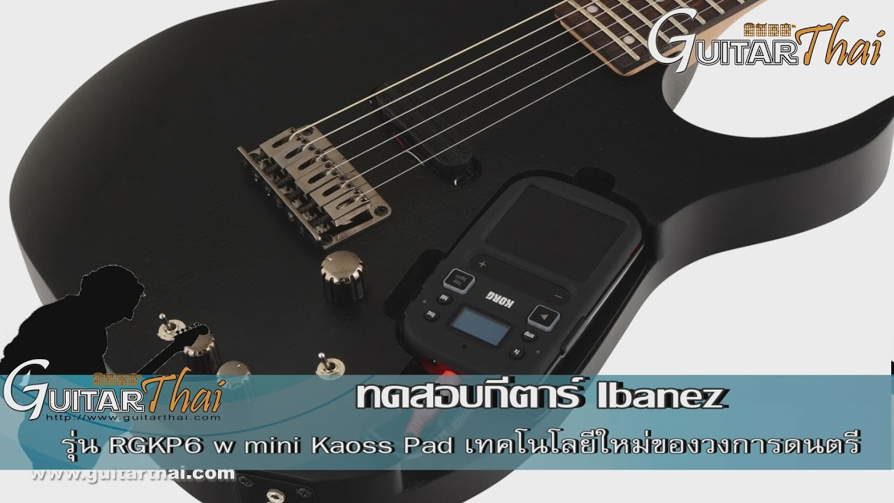 review ibanez rgkp6 w mini kaoss pad by youtube
