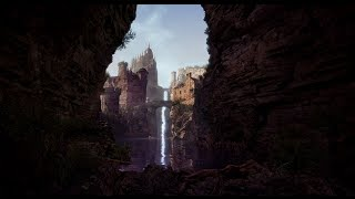 Creating a quick Medieval Canyon Scene