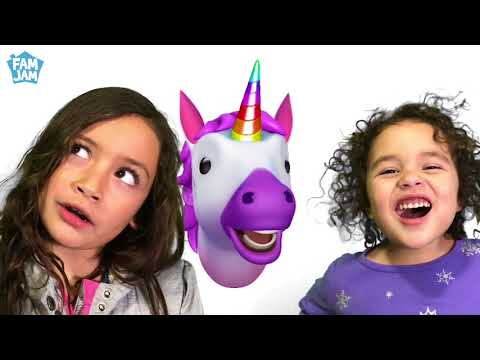 Finger Family Song with Animoji Animals