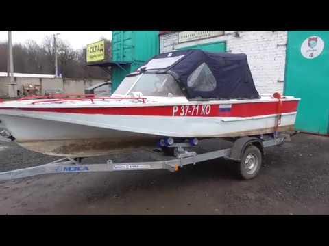 Тюнинг катера С-54. Катер С-54 «люкс», видео. - YouTube