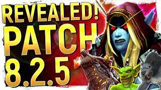 Patch 8.2.5 Revealed Big New Features For Wow's Future Blizz's Policy Backfire  Weand39re Hiring