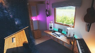 Dream Home Music Studio - How To Build From Start To Finish - Minimal Setup on a Budget