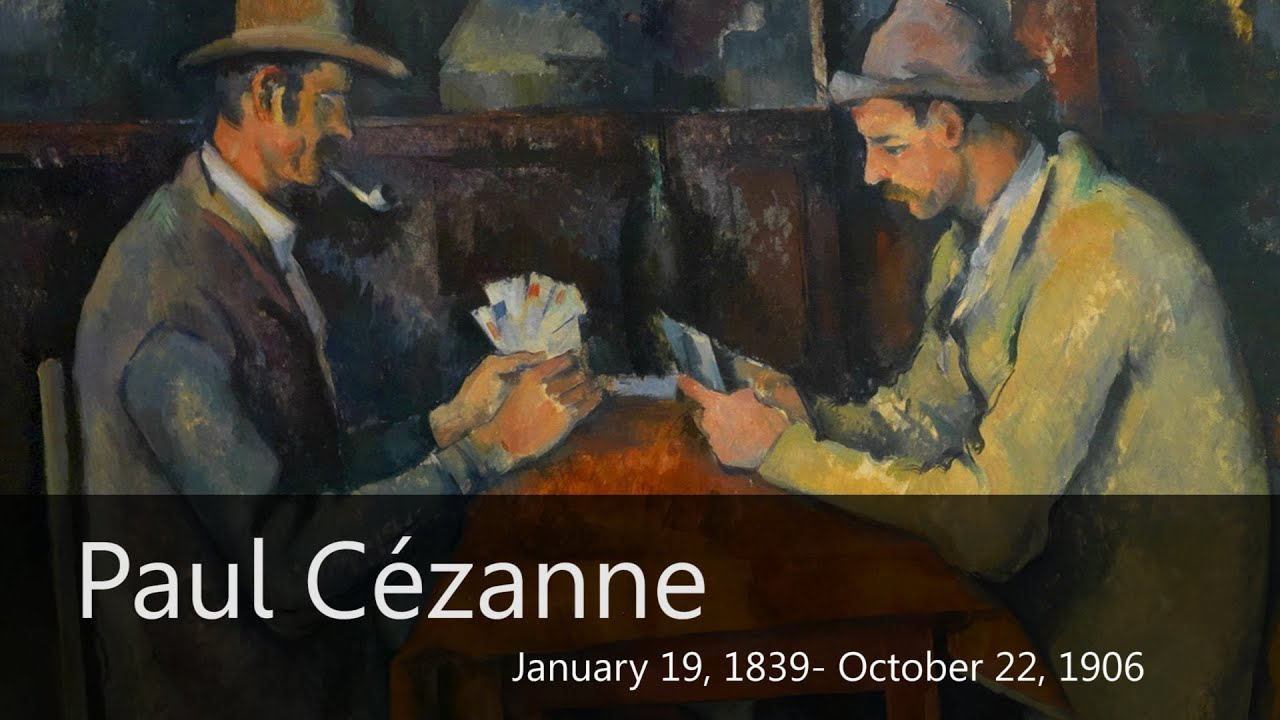 Cezanne Biography from Goodbye-Art Academy - YouTube