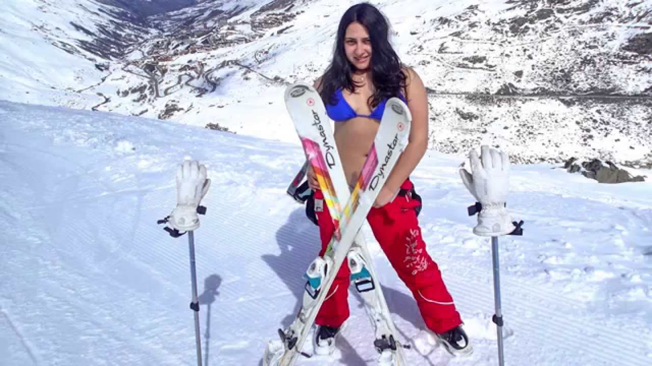 Situation bikini skiing pictures can not