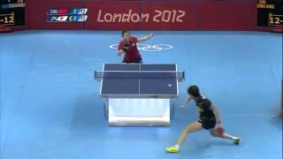 卓球 ロンドンオリンピック スーパープレイ集