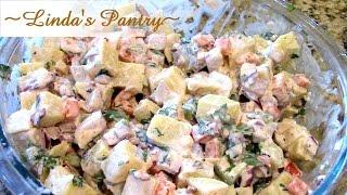 ~chipotle Sweet Potato Salad With Linda's Pantry~