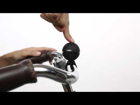 NELLO, magnetic bike bell