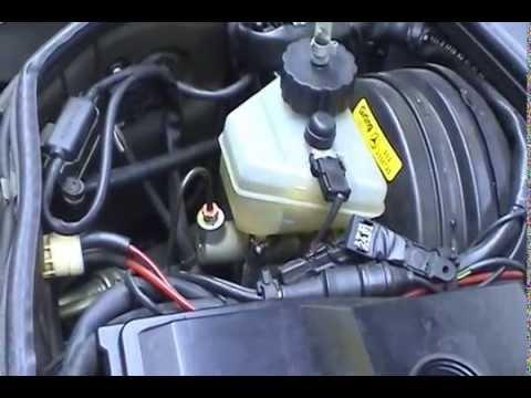 1991 Mercedes-Benz 420 SEL Master Cylinder Renewal