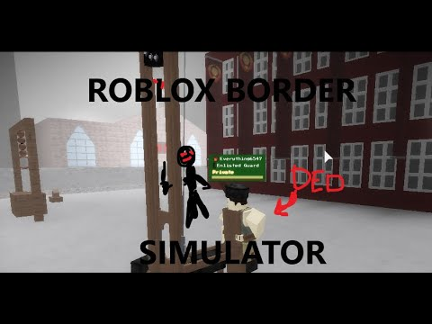 A Day At The East Grestin Border Papers Please Roblox Glory To Arstotzka Roblox Border Simulator Youtube