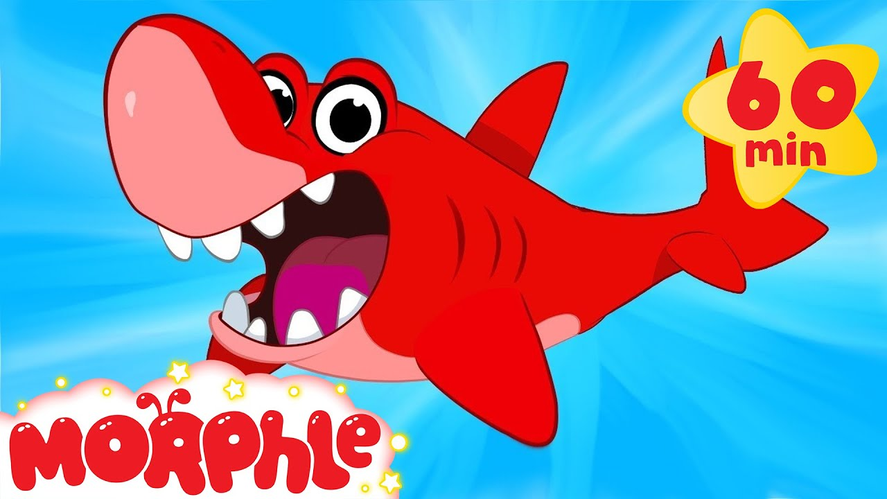 Shark Adventures with Morphle ( +1 hour My Magic Pet Morphle Kids Animal Videos Compilation)