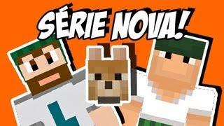 Ep 01. Diários de Minecraft M: Começa a Aventura Multiplayer!