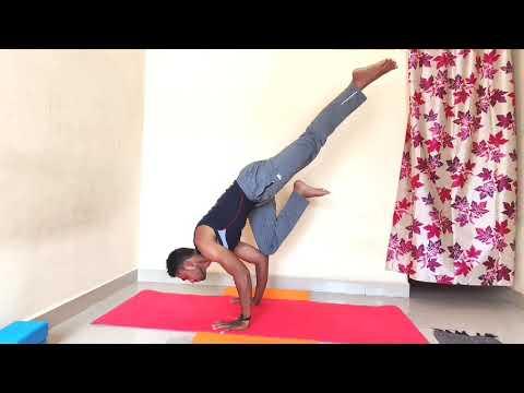 6th international yoga day challenge 🎊🎉 single leg crow