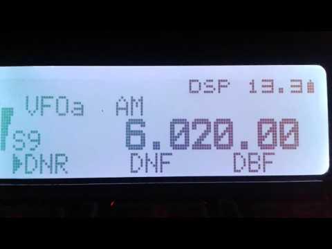 Radio China International 6020 kHz (Spanish Service)