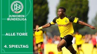 BVB-Kantersieg & Bayern bleibt ungeschlagen | Alle Tore der A-Junioren-Bundesliga | 4. Spieltag