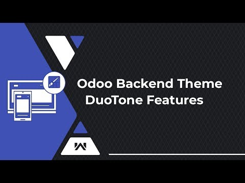 Odoo Backend Theme Duotone Features Video By Webkul thumbnail
