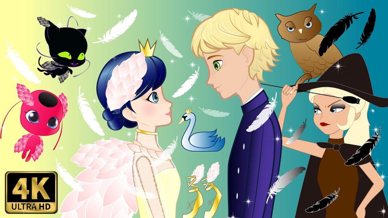 Mari S Swan Princess Story Cartoons Crafts Youtube