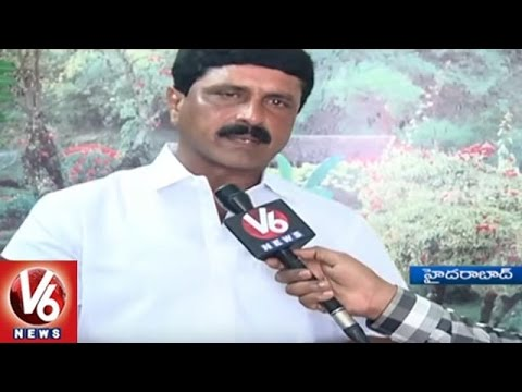 TRS Leader Dubbaka Narasimha Reddy Face To Face Over Links With Nayeem | V6 News