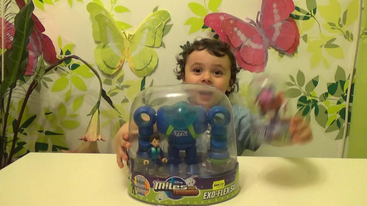 Майлз с другой планеты - Обзор игрушки / Miles from Tomorrow - Disney - Toy Review