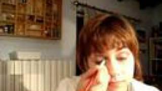 color anguria :) /watermelon eyes make-up Thumbnail