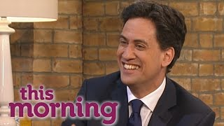 Ed Miliband On The Ecomony And His Russell Brand Interview | This Morning