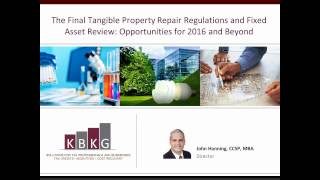Tangible Property Repair Regulations