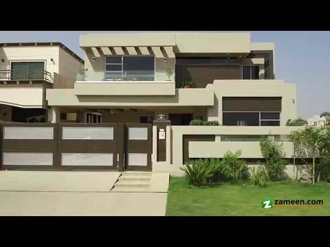 1 KANAL BRAND NEW BEAUTIFUL BUNGALOW FOR SALE IN BLOCK H PHASE 6 DHA LAHORE