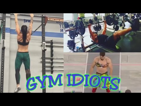Gym Idiots - Cross-Dressing Crossfitters & Dane Cook's Bench Press Workout