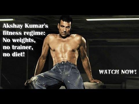 Akshay Kumar's fitness regime: No weights, no trainer, no diet!