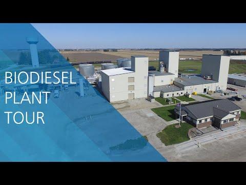 Renewable Energy Group Biodiesel Plant Tour