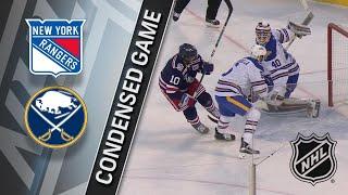 01/01/18 Condensed Game: Rangers @ Sabres