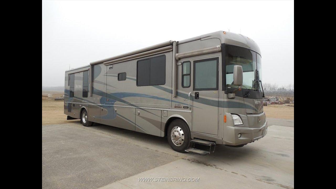 Used 2005 winnebago vectra m 40kd diesel pusher motorhome for Diesel motor homes for sale