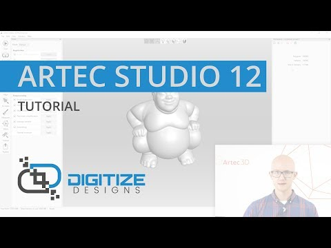 Manual 3D Scan Processing - Organic Objects - Artec Studio 12 Tutorial