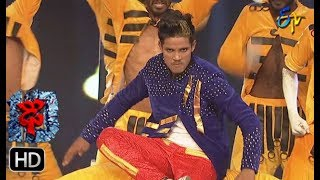 Raju Performance | Dhee 10 | Grand Finale | 18th July 2018 | ETV Telugu