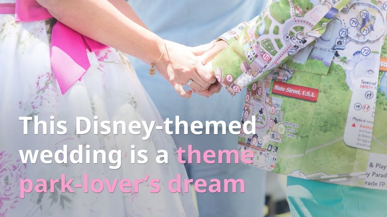 This Disney Themed Wedding Is A Theme Park Lovers Dream Come True
