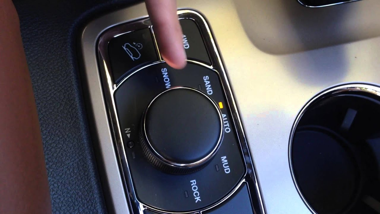 How To Shift Into 4 Wheel Drive 2015 Jeep Grand Cherokee