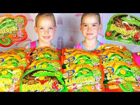 Крокодилы&Ко Макси против Хамелеонов&Ко Макси ДеАгостини Игрушки для детей