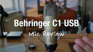 Behringer C-1U USB Studio Condenser Microphone Review