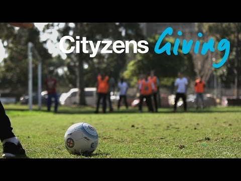 Cityzens Giving in Melbourne | 'I Speak Football'