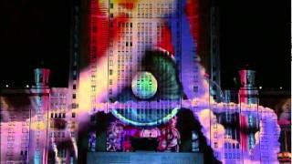 Лазерное шоу в Москве