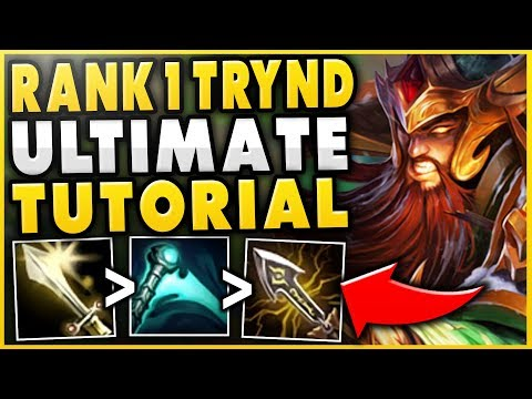 HOW TO PLAY TRYNDAMERE PERFECTLY IN SEASON 9 (NEW HYBRID BUILD) - League of Legends thumbnail