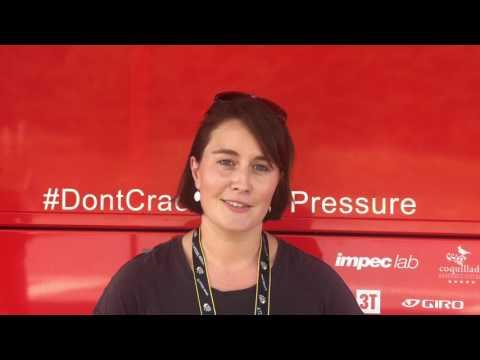 Le Aussies: Phoebe Haymes (Media Officer, BMC Racing Team)
