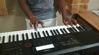 Pehli baar|Thaikkudum bridge fish rock|La la land theme keyboard cover